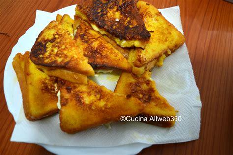 mozzarella in carrozza ricetta napoletana mozzarella in carrozza antipasto napoletano
