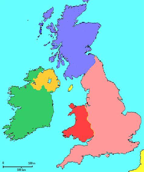 map uk ireland mathematicians born near