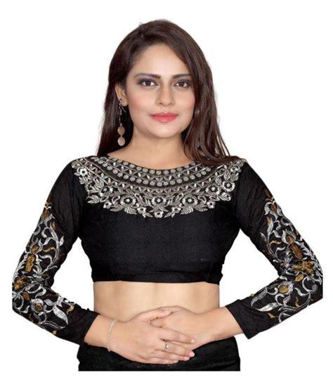 New Moline Blouse Black new designer black blouse buy new designer black blouse at low price snapdeal