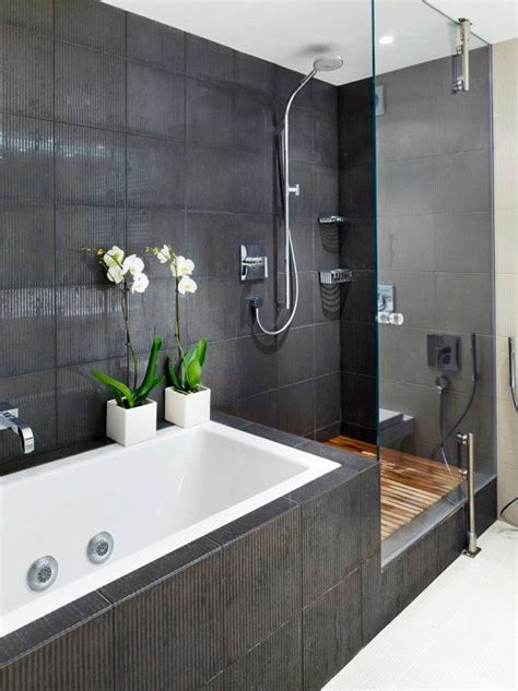 black tile bathroom ideas 30 black and grey bathroom tiles ideas and pictures