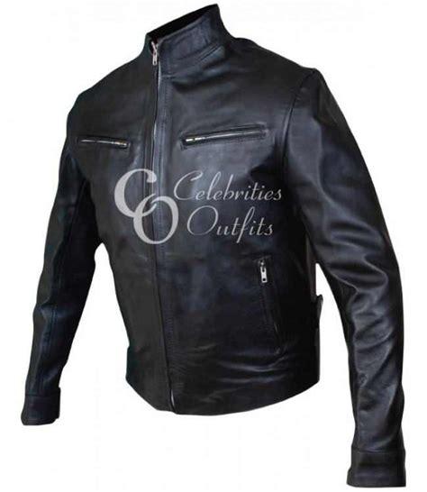 Sale Diesel Leather Batman Brown fast and furious 6 dominic vin diesel replica leather jacket