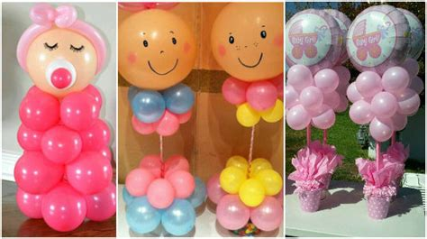 como decorar con globos en un baby shower preciosas manualidades ideas para decorar un baby shower