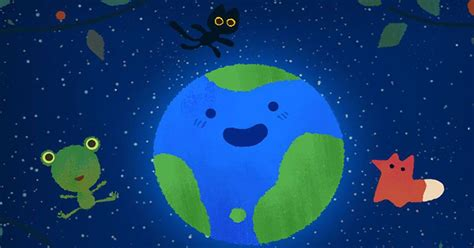 doodle 9 in 1 doodle uses animals to deliver an earth day