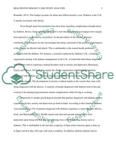 psychological study template diabetes psychological study analysis study essay