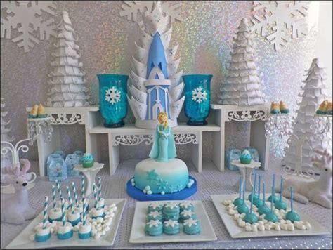 Frozen Table by Frozen Dessert Table Ideas Catch