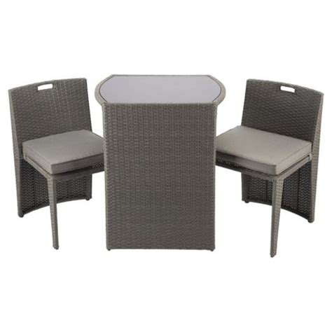 tesco direct bedroom furniture clearance buy cube bistro garden furniture set taupe from our all