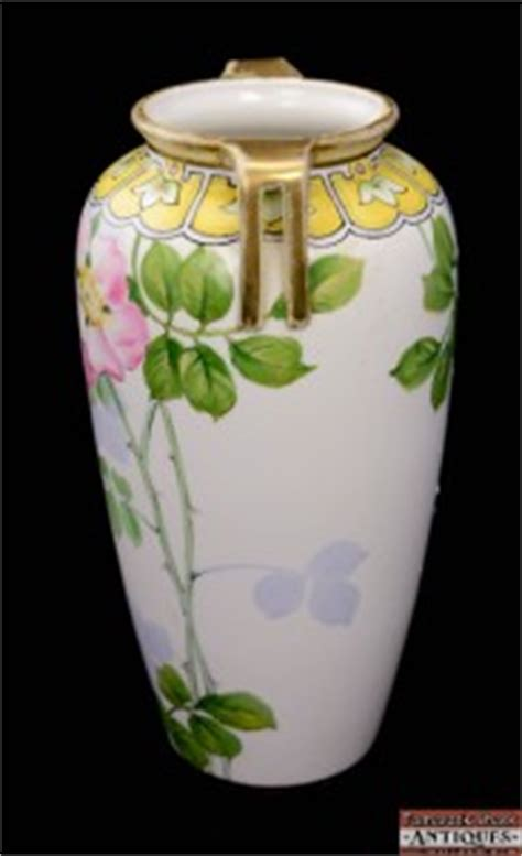 Nippon Painted Vase Value by Early 1900s Painted Nippon Morimura 10 Quot Handled Vase