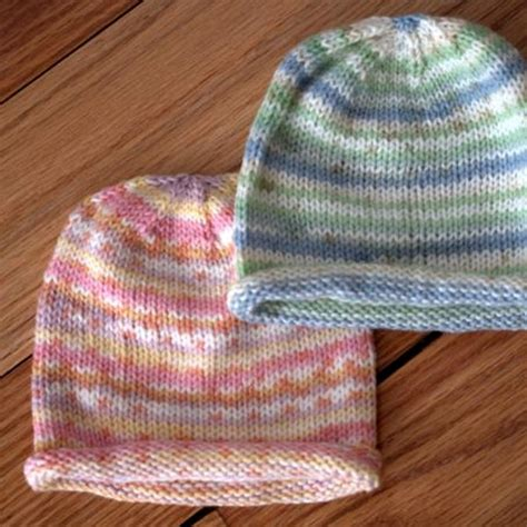 easy to knit baby hat easy paintpot baby hat free knitting pattern knitting