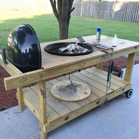 weber grill table plans 17 best ideas about grill station on diy