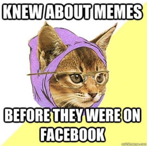 Hipster Kitty Meme - hipster kitty