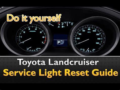 Toyota Avensis Service Light Reset как сбросить индикатор T Belt на Toyota Land Cruiser Pr