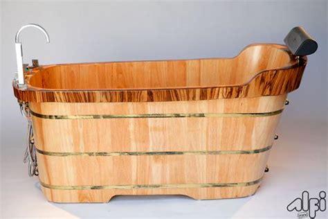 wooden bathtub canada unique freestanding bathtubs stylish wood bathtubs and