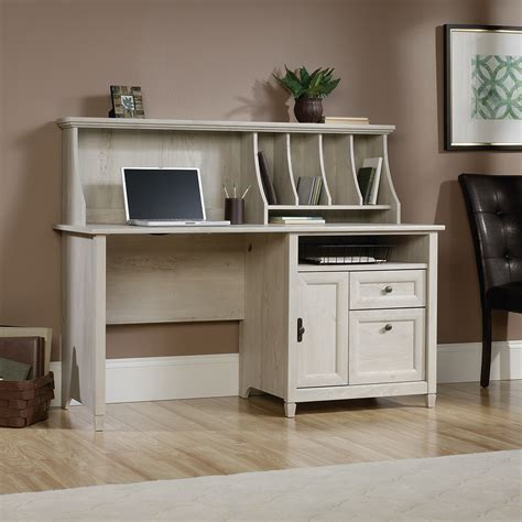 computer desk w hutch sauder edge water computer desk w hutch