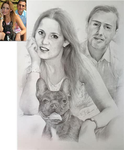 imagenes a lapiz de personas enamoradas retratos a l 225 piz retratos por encargo dibujos a l 225 piz