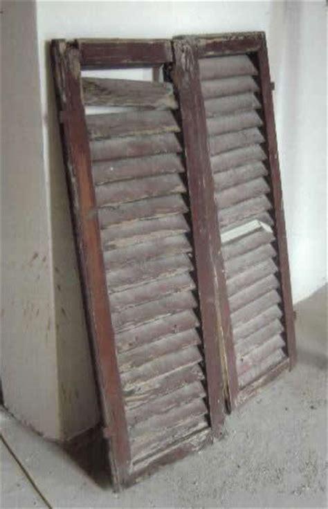 persiane fai da te riparare i serramenti in legno degradati riaprazioni fai