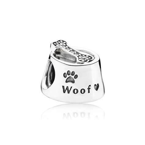 pandora puppy charm pandora bowl charm 791708cz greed jewellery