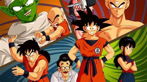 imagenes de goku y sus amigos fondos de dragon ball fondos de escritorio de dragon ball