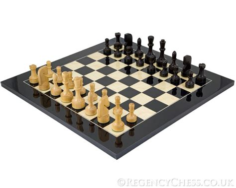 contemporary chess set contemporary black anegre chess set rcpb144 163 228 39