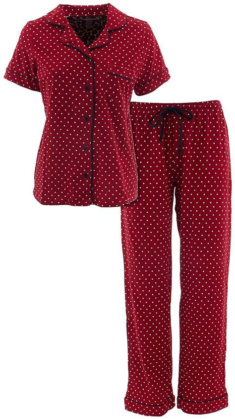 Pillow Talk Sleepwear by Pillow Talk Polka Dot Pajamas For