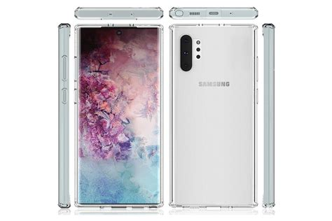 samsung galaxy note 10 galaxy note 10 alleged screen protectors leak showing design
