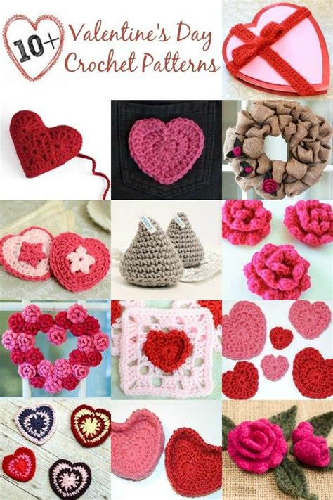 valentines day crochet patterns 17 best images about crochet s day on
