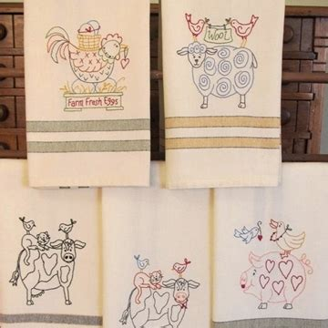 machine embroidery designs for kitchen towels tea towels embroidery designs and patterns plus dunroven