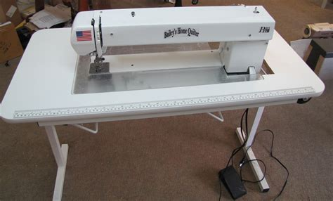 Home Quilting Machines by Bailey S Home Quilter Pro 17e With Sit Table
