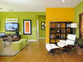 Yellow Living Room With Accent Wall 20 Beautiful Living Room Accent Wall Ideas