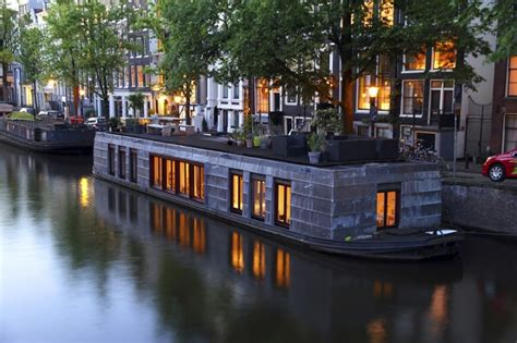 house boat amsterdam 32 incredible and unique houseboat designs photos