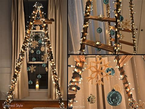 how to make a ladder christmas tree my top 7 favorite diy alternative tree ideas butterflies all