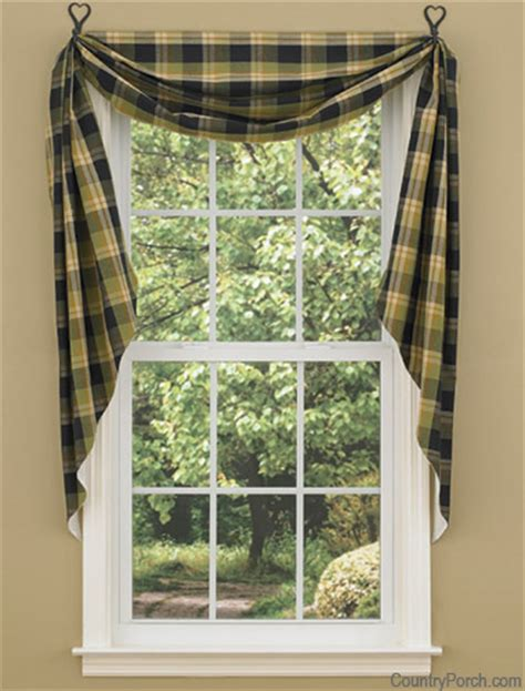 fishtail curtain swags greenbriar fishtail curtain swags