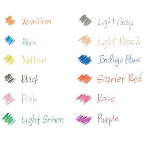 prismacolor col erase colored pencils prismacolor col erase erasable colored pencil
