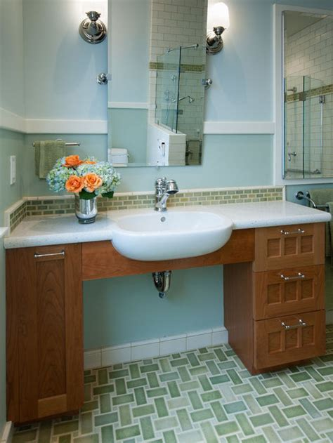 Wheel Chair Accessible Sink Ideas, Pictures, Remodel and Decor