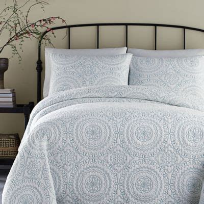 Coral Quilts And Coverlets Buy Turquoise And Coral From Bed Bath Beyond