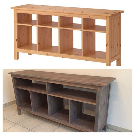 ikea salontafel hemnes wit affordable beforeafter diy hemnes sofa table ikea hack
