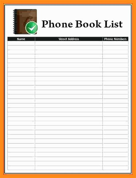 free printable photo book templates microsoft excel address book