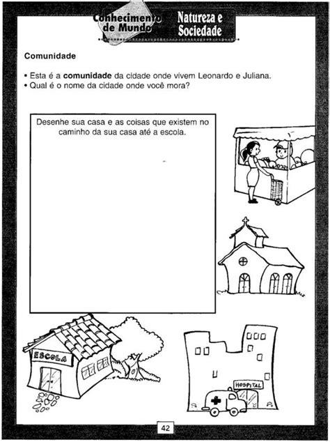 Atividades natureza e sociedade - Atividades Pedagógicas
