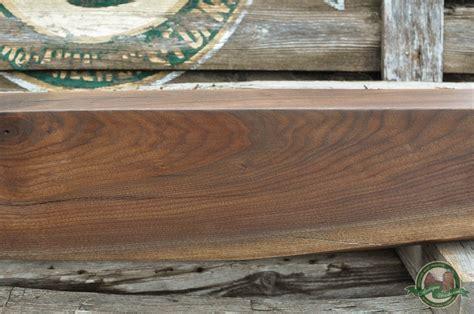 black walnut fireplace mantel beam davey tree antique woodworks