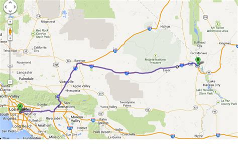 grand to la map a cheap and safe place to stay between los angeles and the
