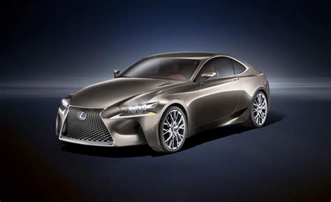 lexus 2014 coupe 2014 lexus is coupe previewed in lf cc concept