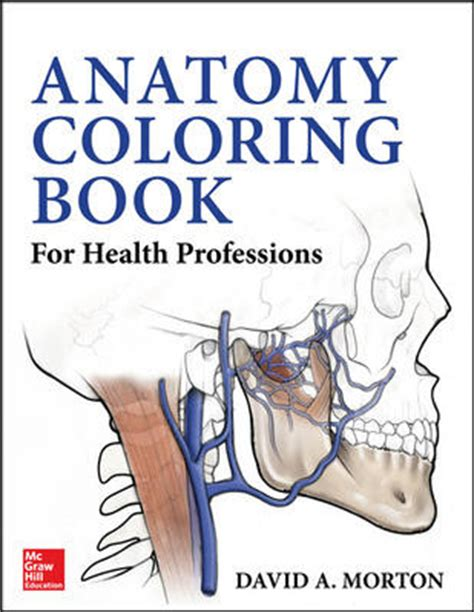 anatomy colouring book blackwells anatomy coloring book for health professions
