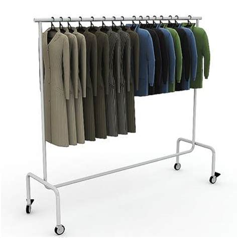 Clothes Display Rack by 3d Model Clothes Display Rack 19 95 Buy