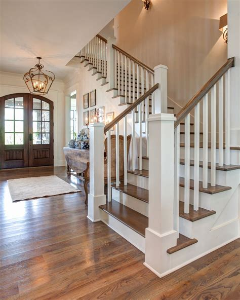 How To Refinish Wood Banister by 25 Best Ideas About Hardwood Stairs On