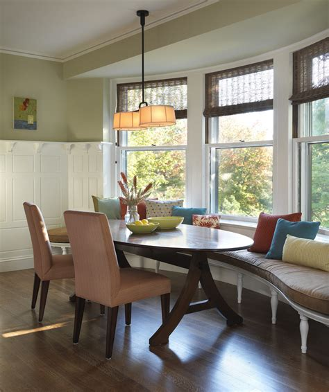 curved kitchen bench seating curved bench seating kitchen traditional with bamboo shade banquette bench