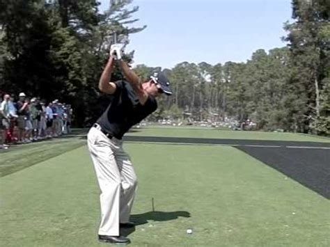 charl schwartzel swing charl schwartzel swing down the line youtube