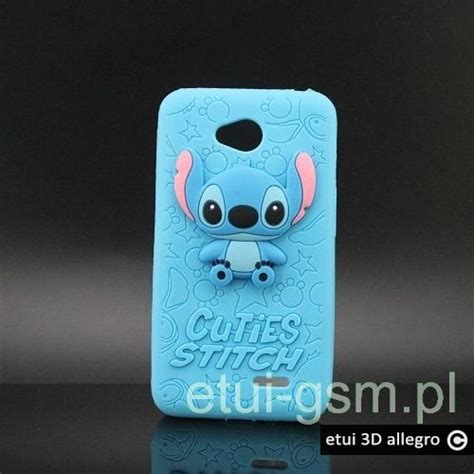 Samsung J310 Silikon Cuties Stitch Cover Silikon etui do lg l90 cuties stitch 3d plecki guma etui 3d