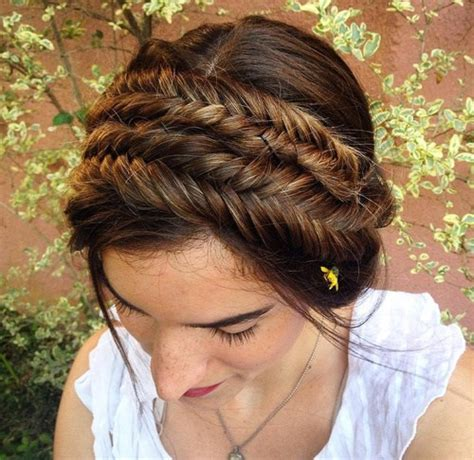 fishtail braids hairstyles 40 awesome jazzed up fishtail braid hairstyles