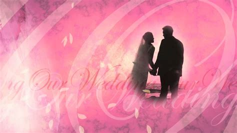 Wedding Animation Free by Our Wedding Free Background Loop Animation