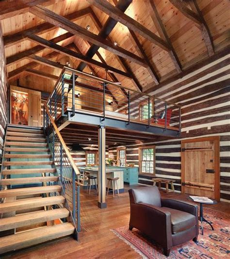 modern log home interiors a modern mountain home using chinking caulking within it