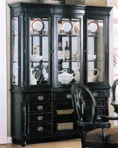 black china cabinet hutch buffet black hutch buffet with mirror pictures to pin on